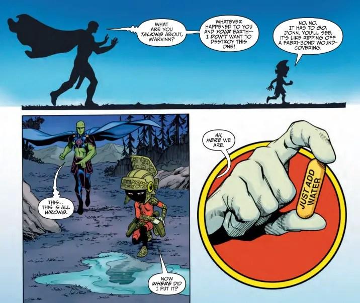Martian Manhunter/Marvin the Martian Special #1 Review
