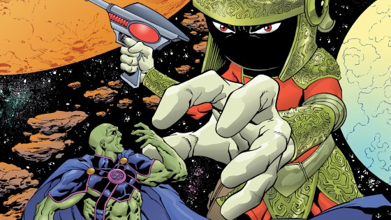 Outside of TV's Supergirl, Martian Manhunter is completely absent in popular culture, so it's strange to see that his first appearance since DC Comics launched Rebirth over a year ago is in a Looney Tunes crossover special! In Martian Manhunter/Marvin The Martian Special #1, J'onn J'onzz meets another Warner Bros. intellectual property who also happens to be a Martian. Is this as funny as the classic Marvin The Martian shorts? Read on to find out.