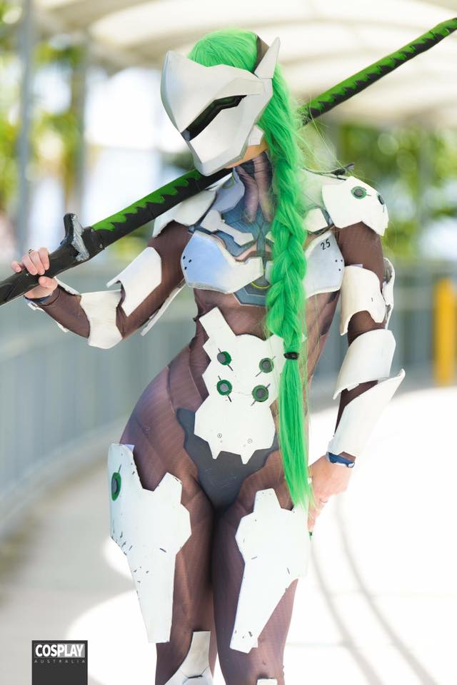 Overwatch: Genji Cosplay by Blondiee