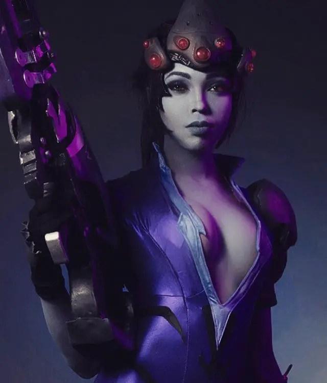 Overwatch: Widowmaker Cosplay by CutiePieSensei