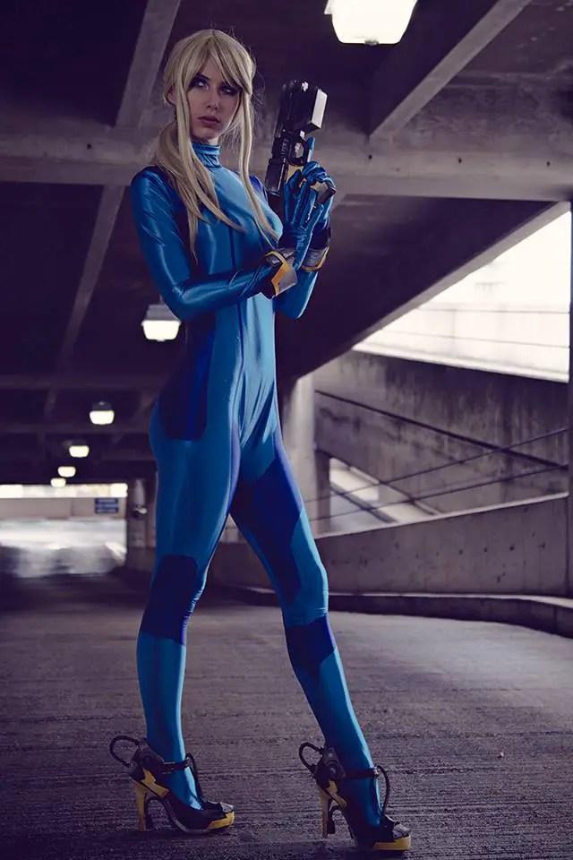 Zero Suit Samus Aran Cosplay by Megan Coffey