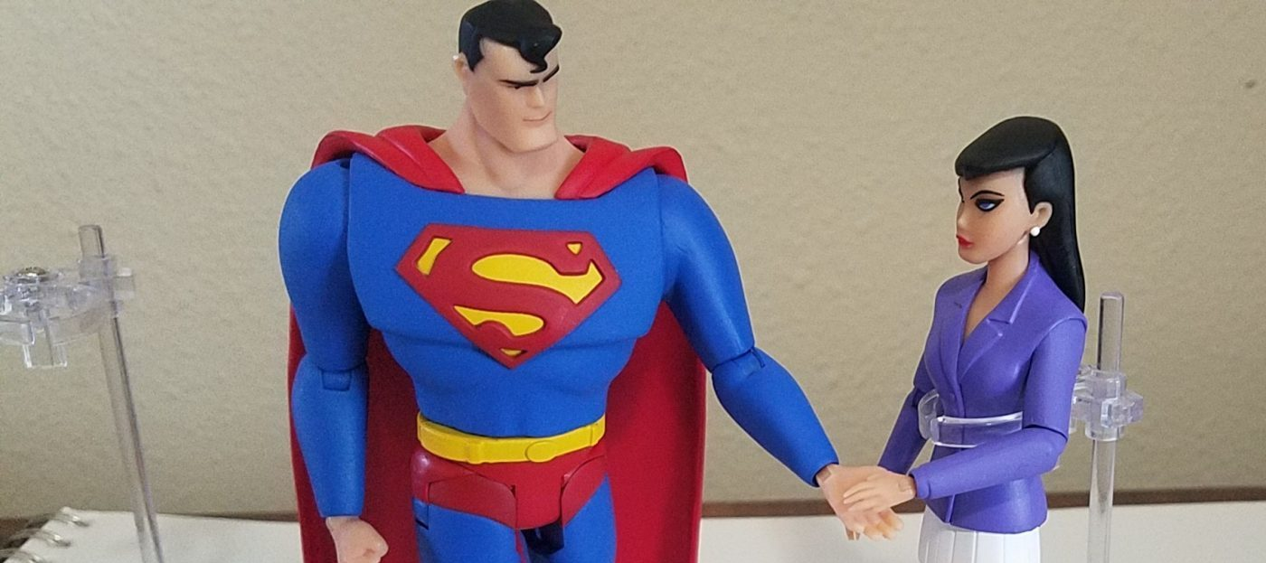 'Superman: The Animated Series' Superman & Lois Lane Two-Pack Review: The Man of Steel Flies to Your Shelf