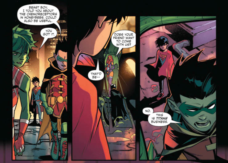 Super Sons #6 Review