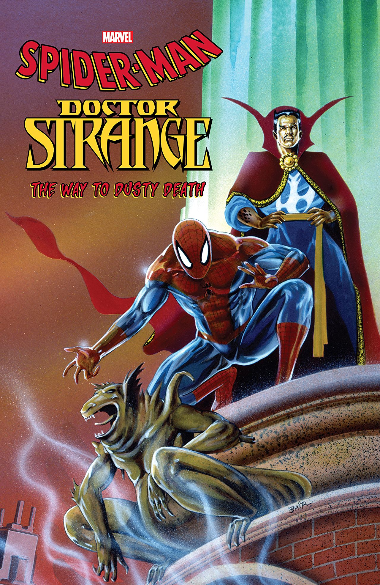 The evolution of comic storytelling: 'Spider-Man/Doctor Strange: The Way to Dusty Death' Review