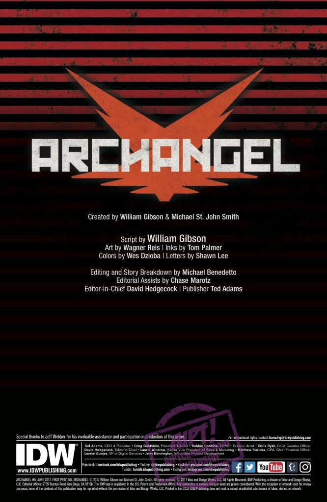 [EXCLUSIVE] IDW Preview: Archangel #5