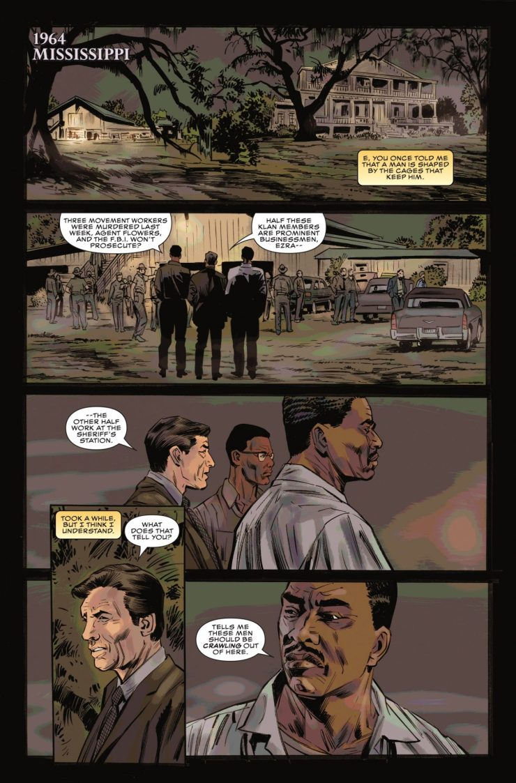 Marvel Preview: Black Panther and Crew #4
