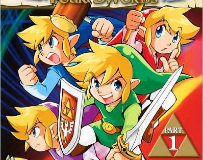 A manga that's a nice expansion to the Zelda universe for younger fans.