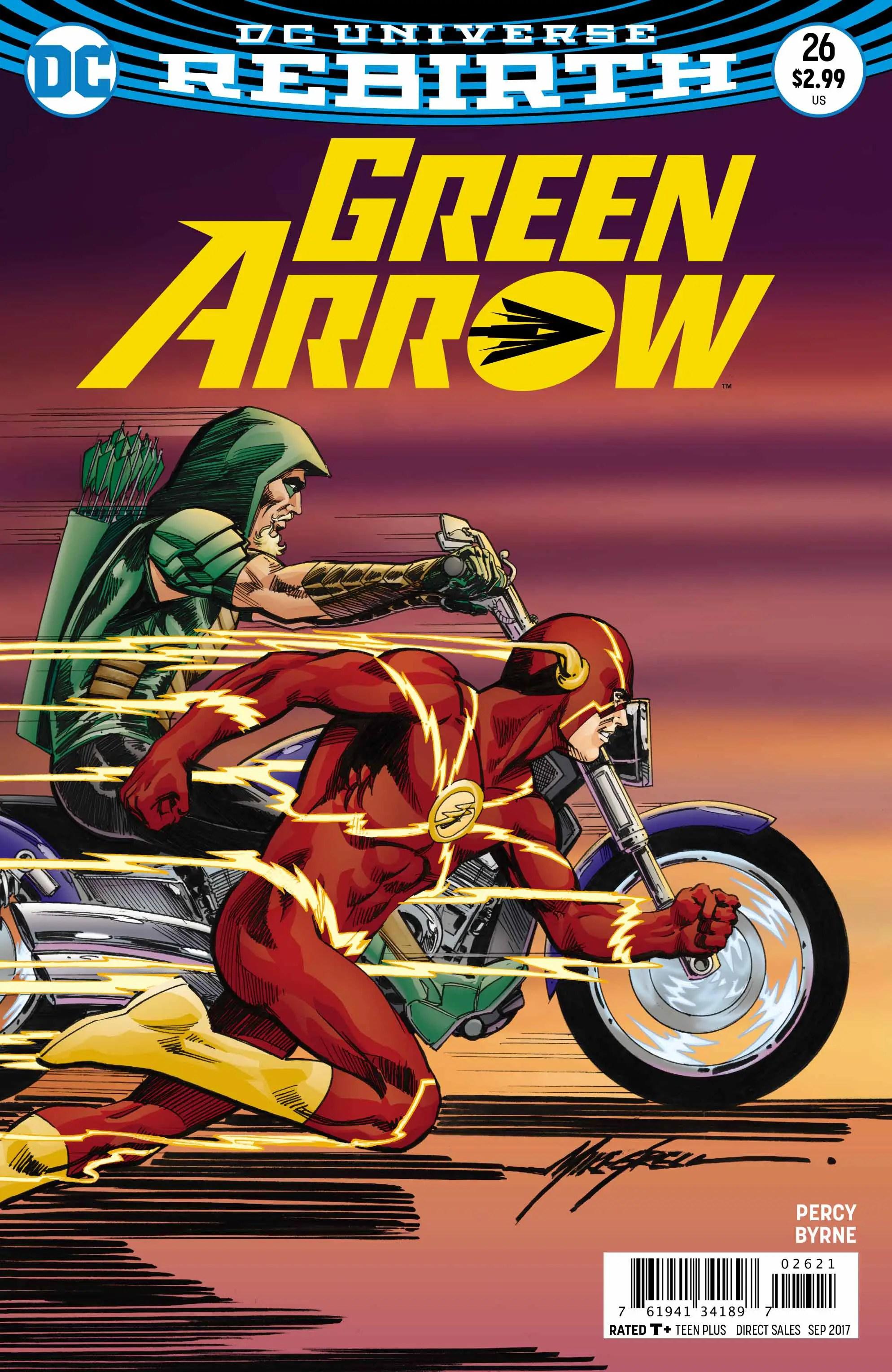 Green Arrow #26 review