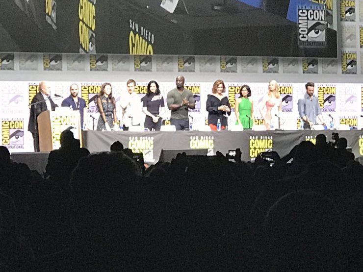 Netflix: Marvel's The Defenders panel takes over Hall H to great excitement and surprises