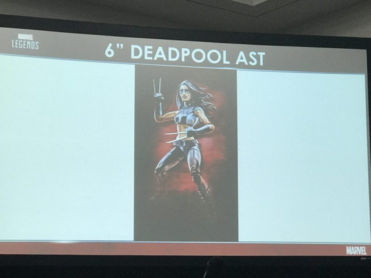 A look at the Marvel Legends figures to come.