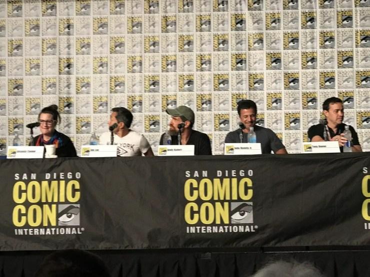 SDCC 2017: DC Comics Master Class panel brings Amanda Conner, Tony Daniel, Andy Kubert, Jim Lee, John Romita Jr., and Frank Miller together