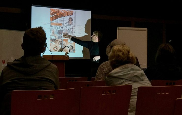 Comics 101: Inside Pine Manor College's Comics & Graphic Narratives MFA Concentration