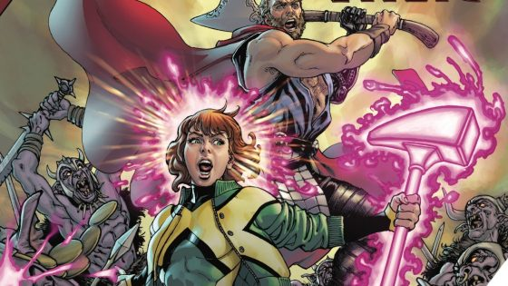 Teen Jean and Drunk Thor vs. an army of orcs. What more do you need to know?