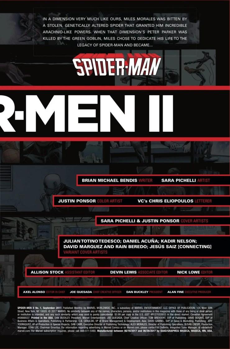 Marvel Preview: Spider-Men II #1