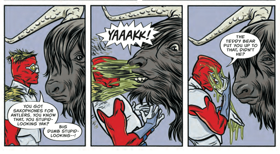 Bug! The Adventures of Forager #3 Review