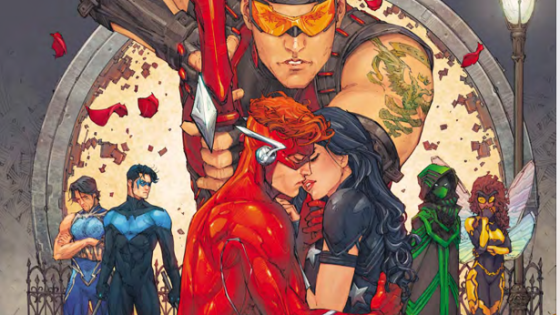 Titans #13 brings a fight comic that's highly entertaining.