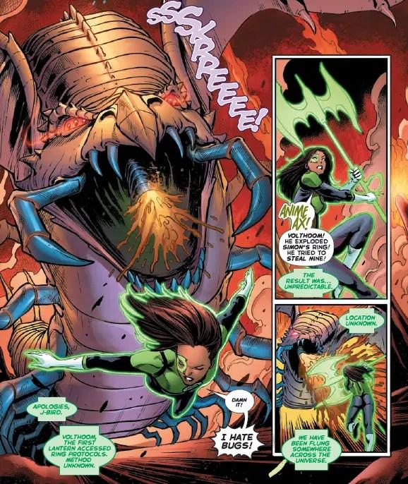 Green Lanterns #27 Review