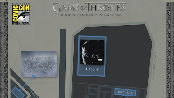 Attending San Diego Comic Con and love Game of Thrones? This guide is for you!