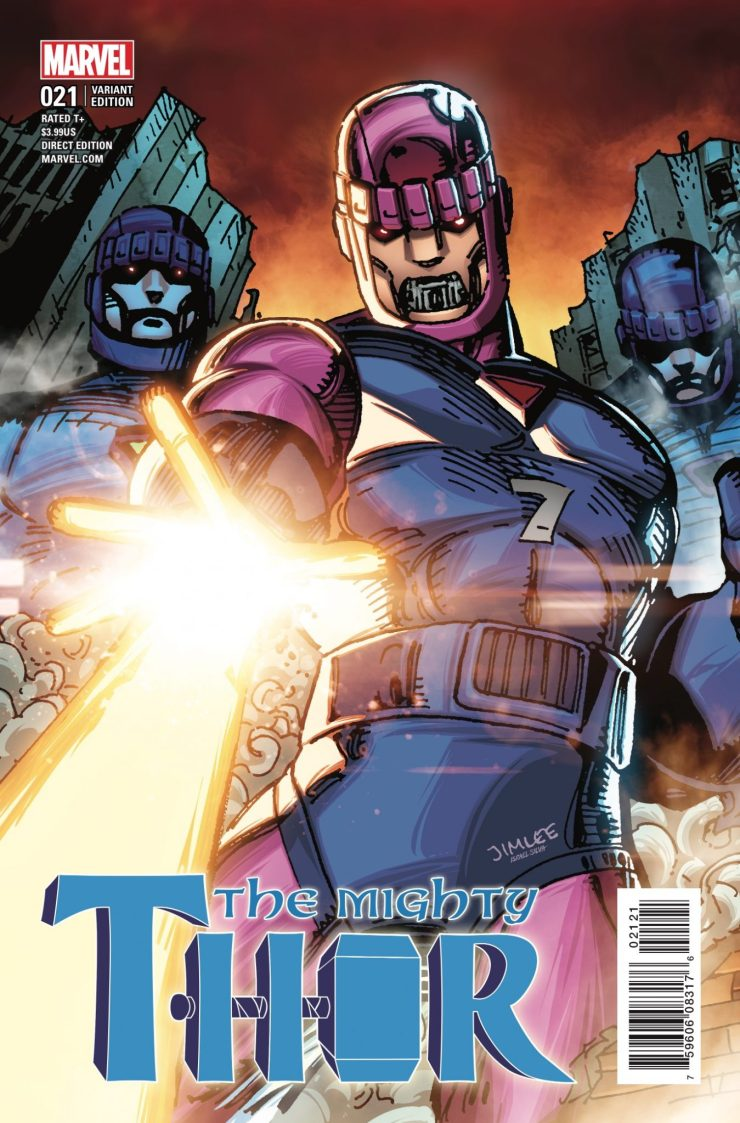 Marvel Preview: Mighty Thor #21