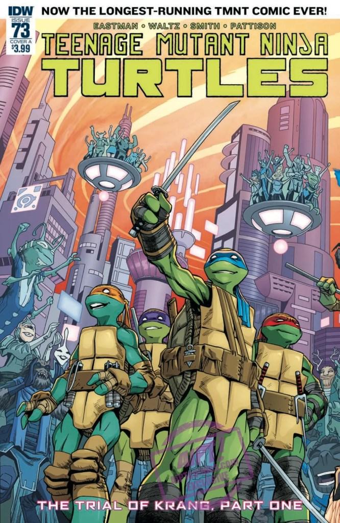 [EXCLUSIVE] IDW Preview: Teenage Mutant Ninja Turtles #73