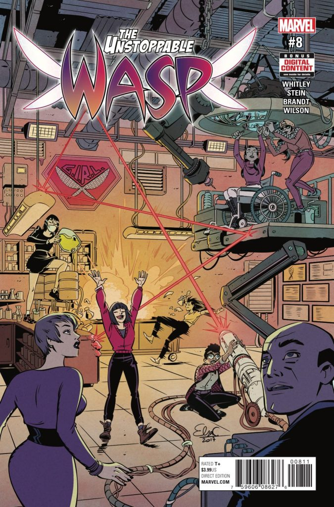 Marvel Preview: The Unstoppable Wasp #8