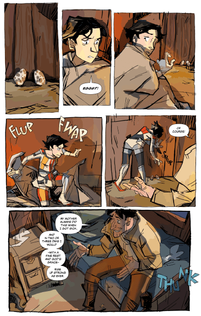 """[EXCLUSIVE] Writer Miles Greb returns to break down """"After the Gold Rush"""" #2"""