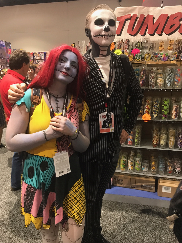 SDCC 2017: Who wore it best? Jack Skellington & Sally cosplay