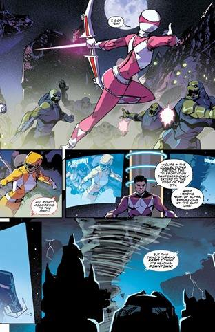 Mighty Morphin Power Rangers #17 Review