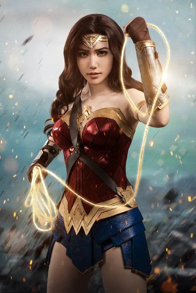 Wonder Woman Cosplay by Lestatuti