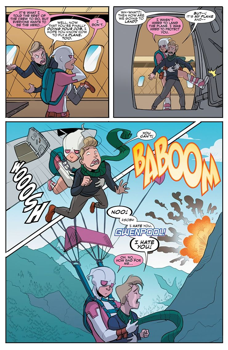 'The Unbelievable Gwenpool Vol. 3: Totally in Continuity' review: Meta, endearing, and funny