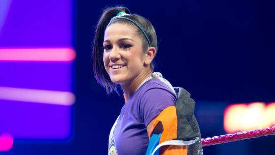 Bayley is unable to compete at Summerslam, out with a separated shoulder