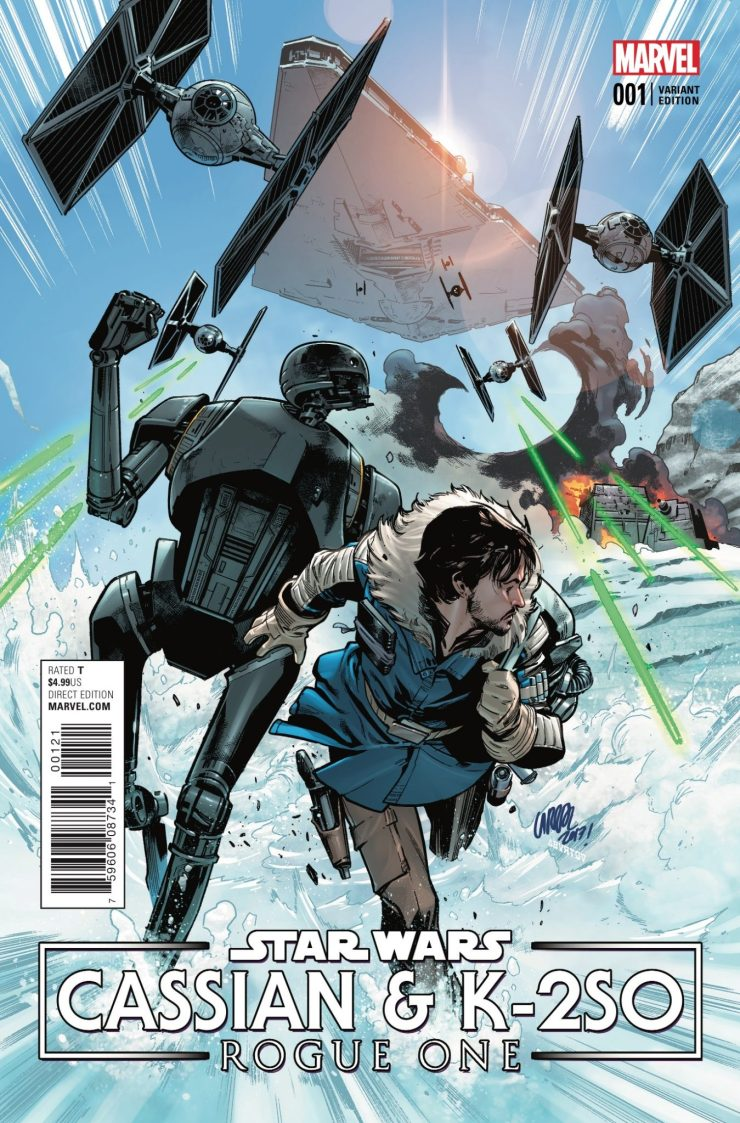 Marvel Preview: Star Wars: Rogue One -- Cassian & K-2SO Special #1