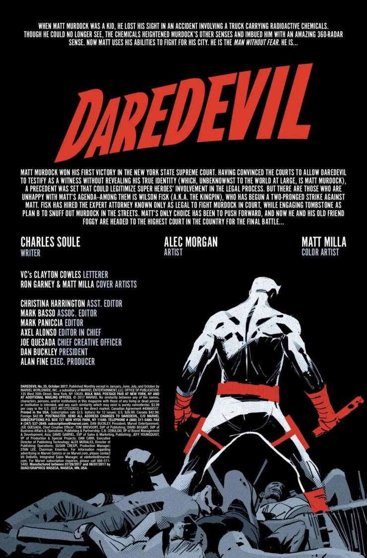 Marvel Preview: Daredevil #25