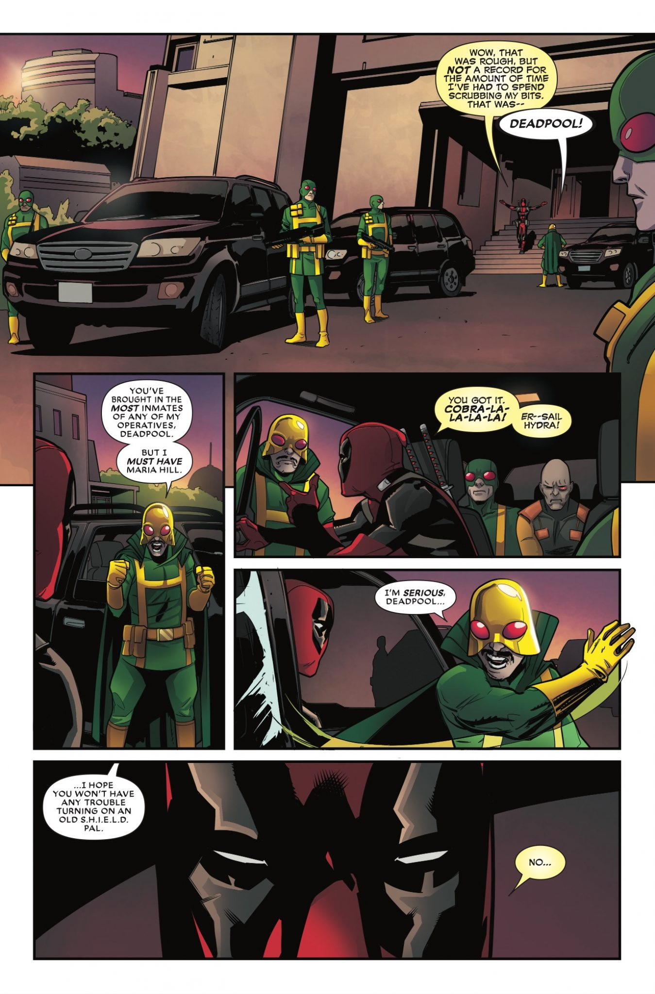 Deadpool #34 Review
