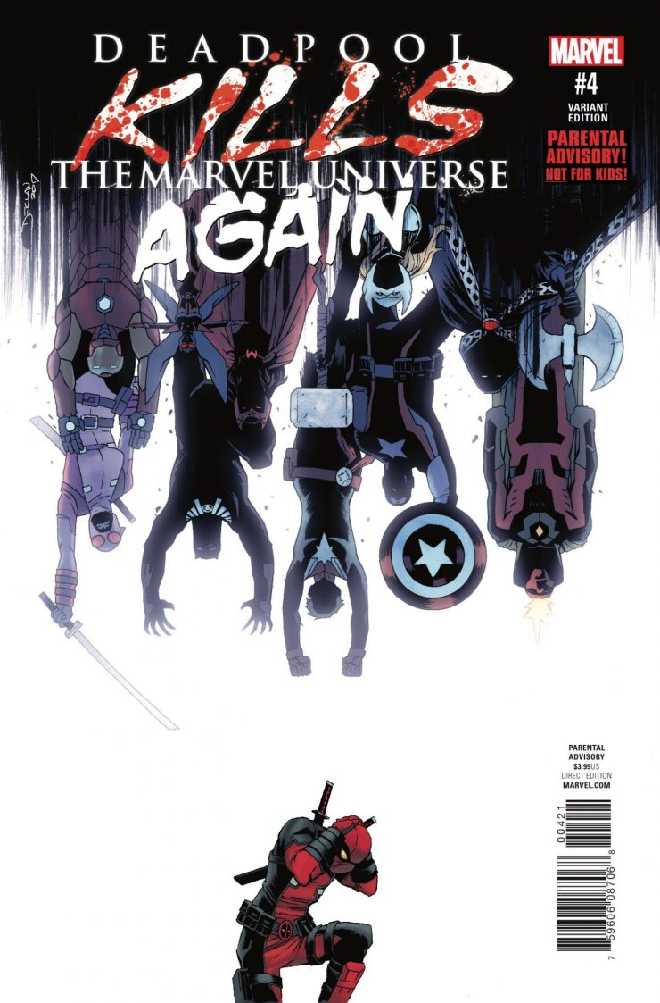 Marvel Preview: Deadpool Kills the Marvel Universe Again #4