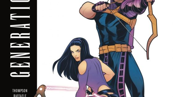 TWO ARCHERS. ONE-SHOT.  Kate Bishop, A.K.A. Hawkeye, finds herself smack-dab in the middle of a battle royal between the world's most skilled sharpshooters - including an inexplicably young Clint Barton, A.K.A. the OTHER Hawkeye.