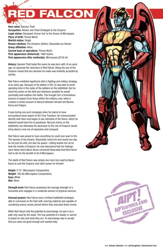 [EXCLUSIVE] IDW Preview: Hasbro Heroes Sourcebook #3