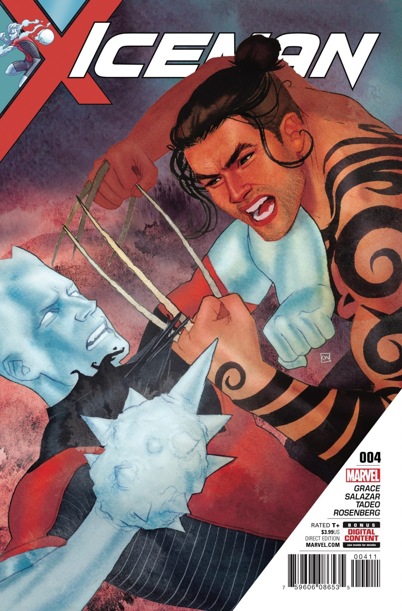 Iceman #4 Review
