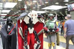 Vader, Grievous and Boba Fett on the prowl for solo