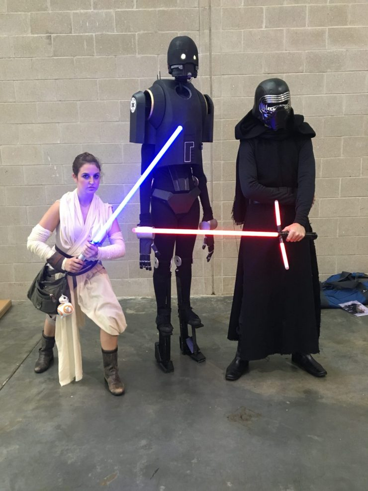"""""""Maybe it's in her genes"""": Cosplay prodigy Hailie Brown talks breaking into the scene at Boston Comic Con"""