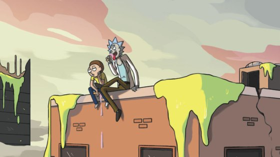 Rick and Morty go on an adventure killing Hitler. All of them.