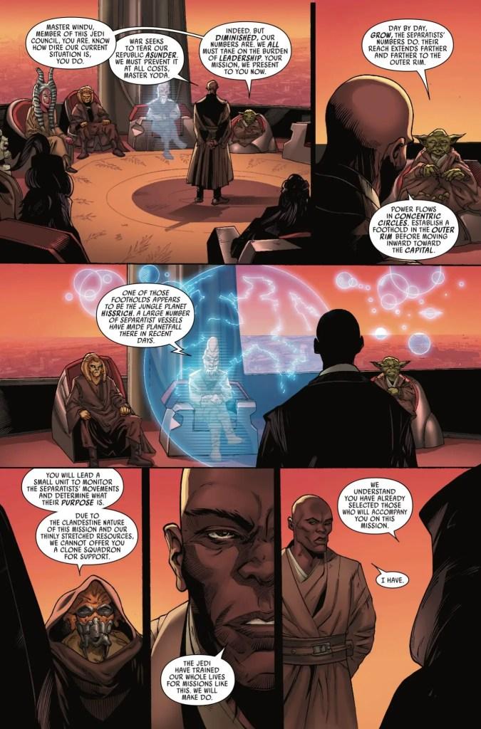 Marvel Preview: Star Wars: Jedi of the Republic - Mace Windu  #1