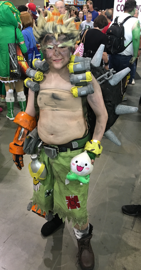 The best video game-related cosplay we saw at Boston Comic Con 2017