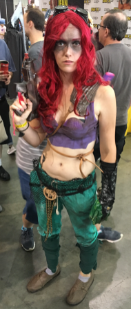 Mera, Aquaman, Furiosa and badass all wrapped up in one person