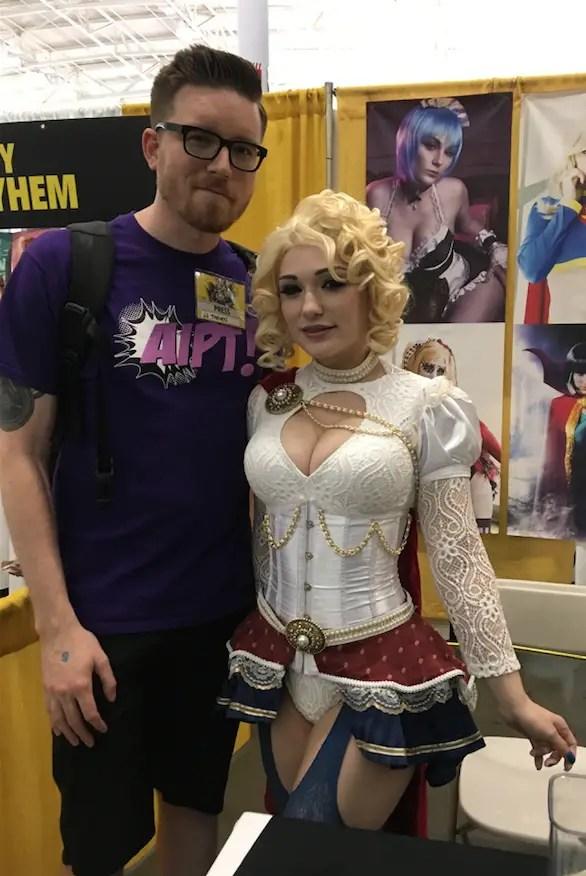 'Comic book Swiss army knife': Cosplayer Jennifer Van Damsel talks working on comics, manga, and more at Boston Comic Con