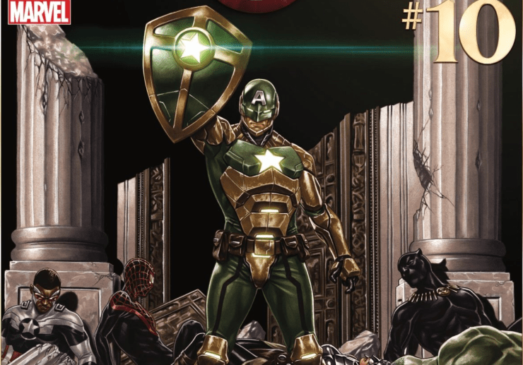 Leaked Marvel Legends Hail Hydra two-pack featuring Secret Empire Captain America