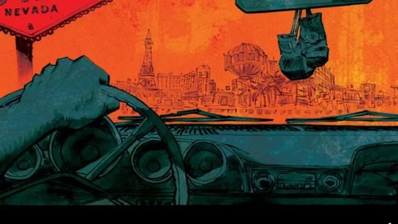 Dan Panosian talks new Las Vegas series 'Slots' from Image Comics out this October.