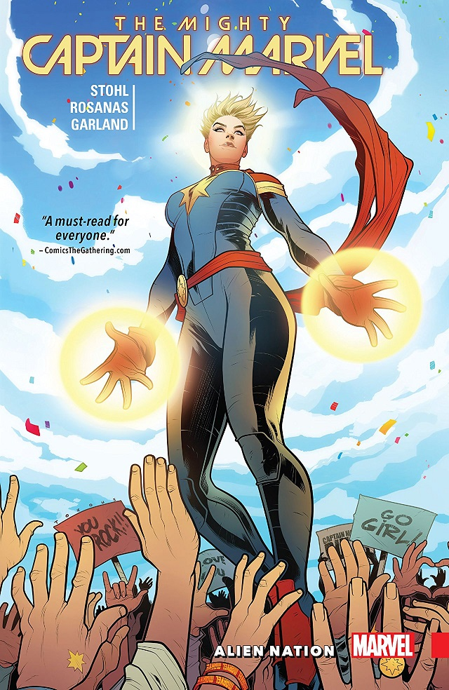 'The Mighty Captain Marvel Vol. 1: Alien Nation' is a disappointing mess