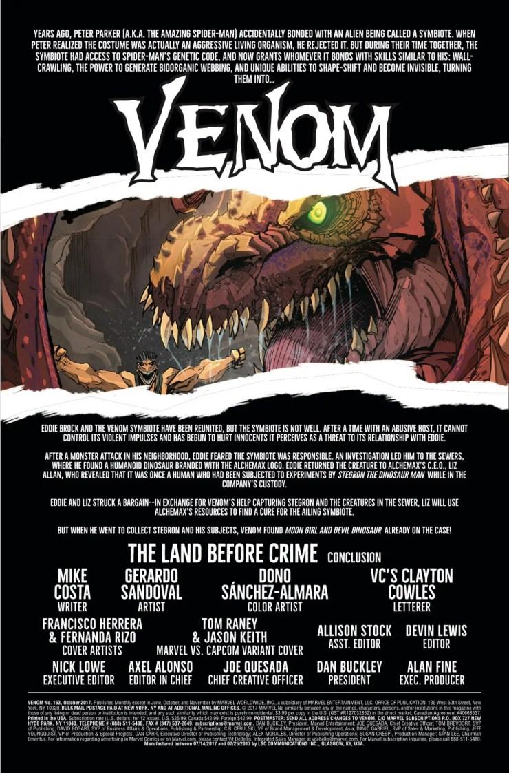 Marvel Preview: Venom #153