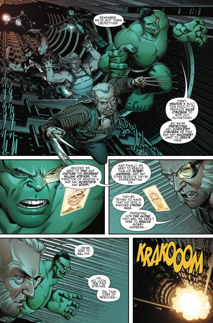 Marvel Preview: Weapon X #6